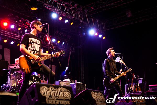 Anti alles - Fotos: Anti-Flag live beim Happiness Festival 2016