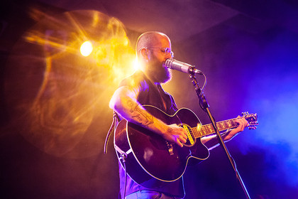 Melancholie & Humor - Fotos: William Fitzsimmons live im Substage in Karlsruhe