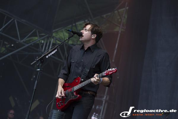 Gratulation - Fotos: Jimmy Eat World live beim Taubertal Festival 2014 in Rothenburg