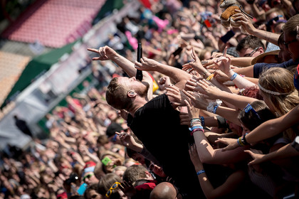 Atmosphärisch - Fotos: Imagine Dragons live bei Rock'n'Heim 2014