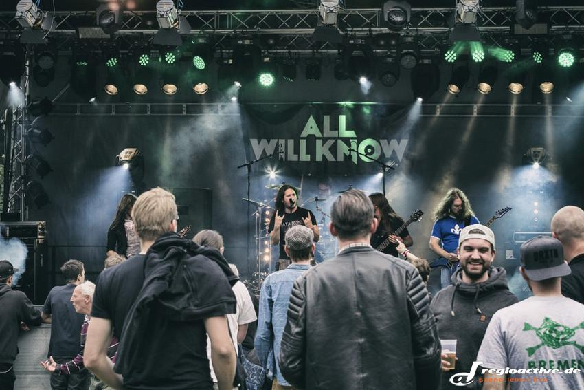 All Will Know (live beim Karben Open Air, 2014)