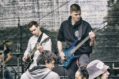 Metal-Newcomer - Fotos: Imperfections live beim Karben Open Air 2014