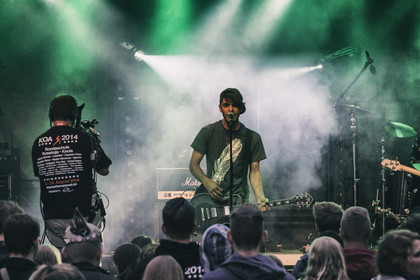 Heimspiel - Fotos: How About Coffee live beim Karben Open Air 2014